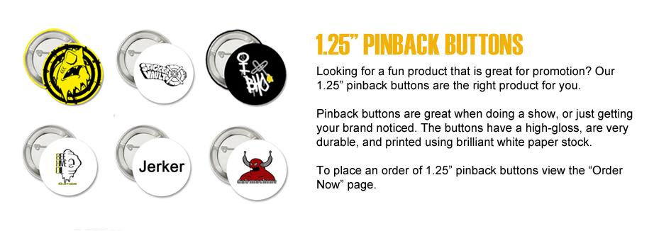 pinback buttons slide